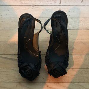 BCBG black heels